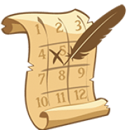 Lost Pearl Cruise Calendar Icon